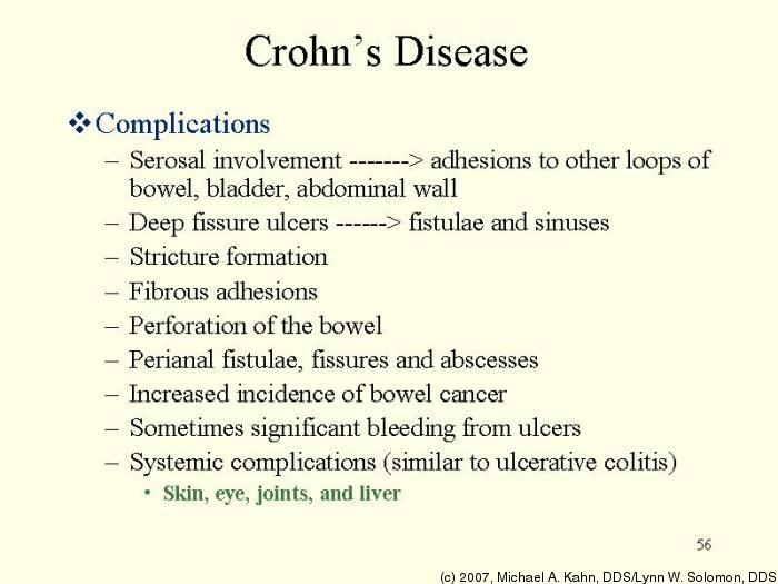 braces and crohns disease essay